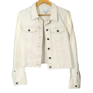 Kenneth Cole off white jean jacket